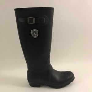Kamik Jennifer Women Size 9 Black Tall Rain Boots